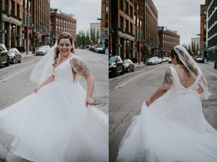 Urban Wedding - Onesto Wedding in Milwaukee Wisconsin - Milwaukee Wedding Photographer
