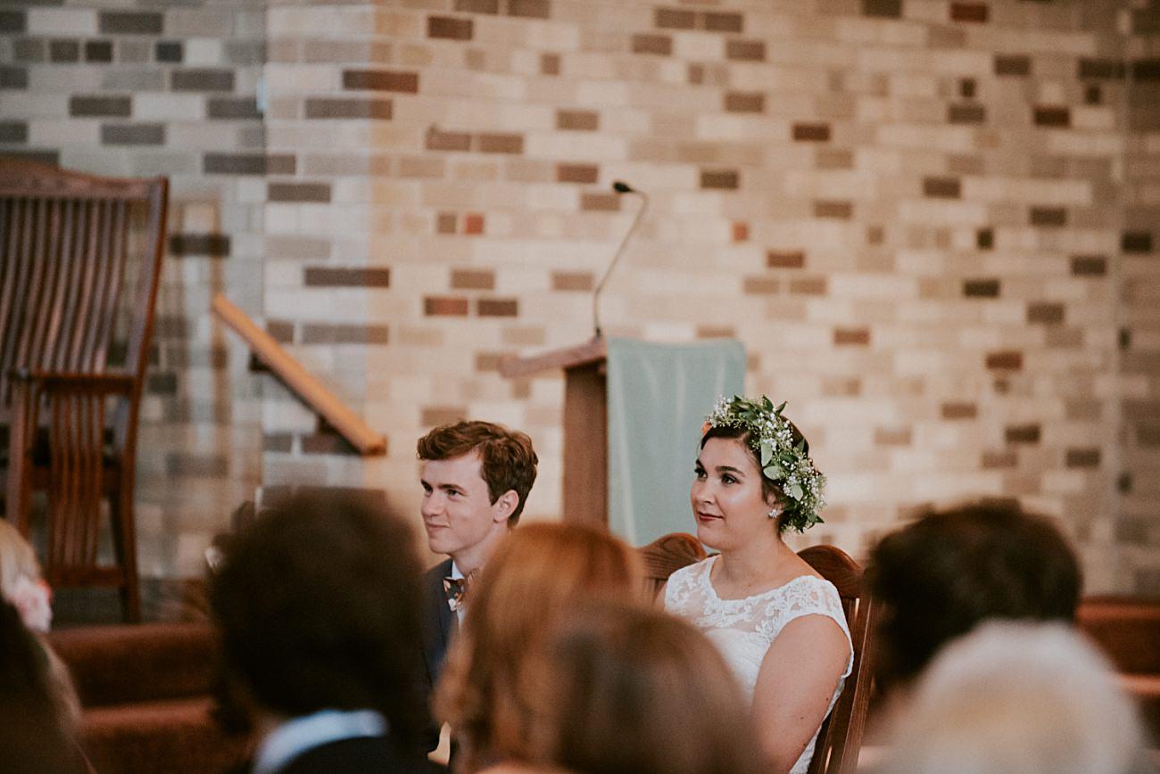Church wedding, Geneva National Resort Wedding in Lake Geneva, Golf Course Wedding, Jewel Toned Wedding Dresses, Navy Suits for Groomsman - Lake Geneva Wisconsin Wedding Photographer - Natural Intuition Photography